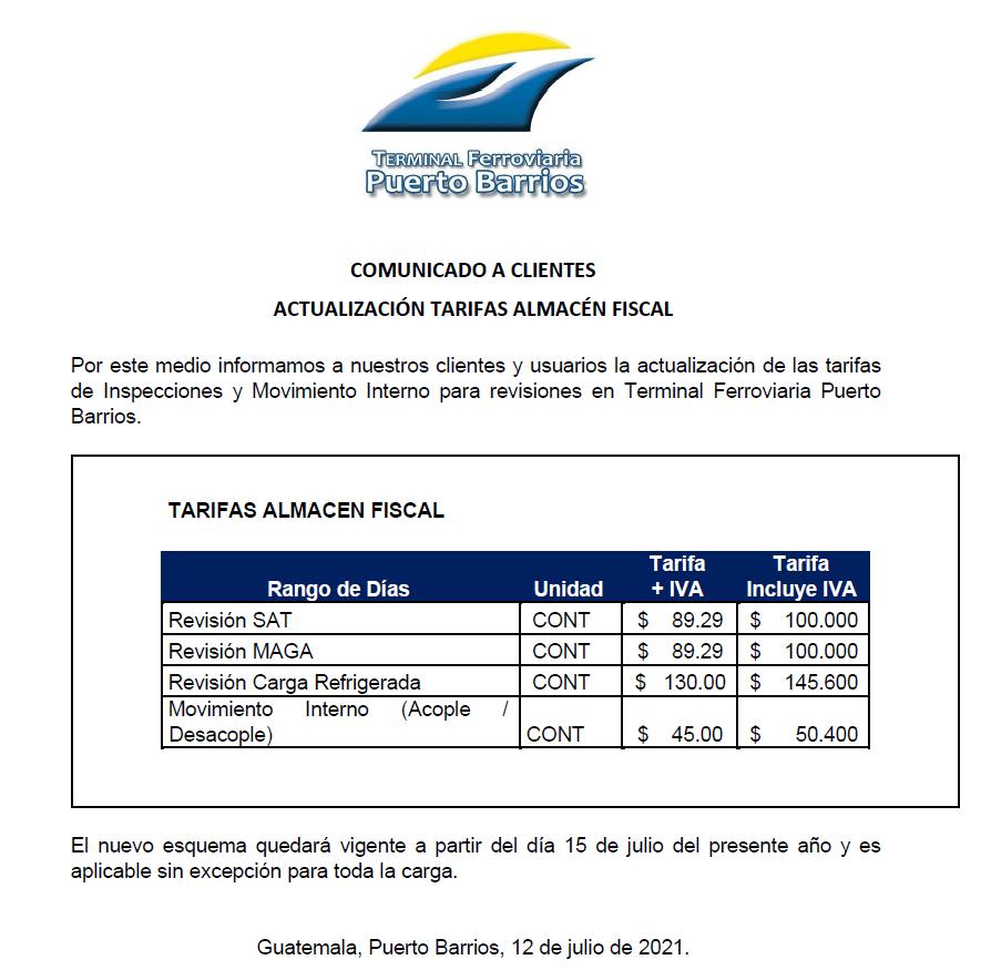 Actualización-Tarifas-Almacén-Fiscal